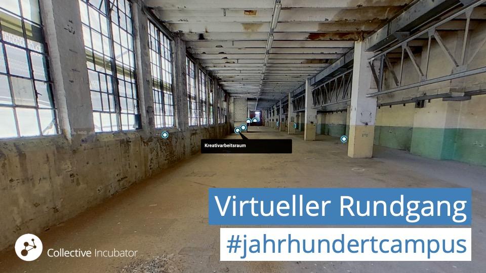 Virtueller Rundgang durch Werkhalle Nord